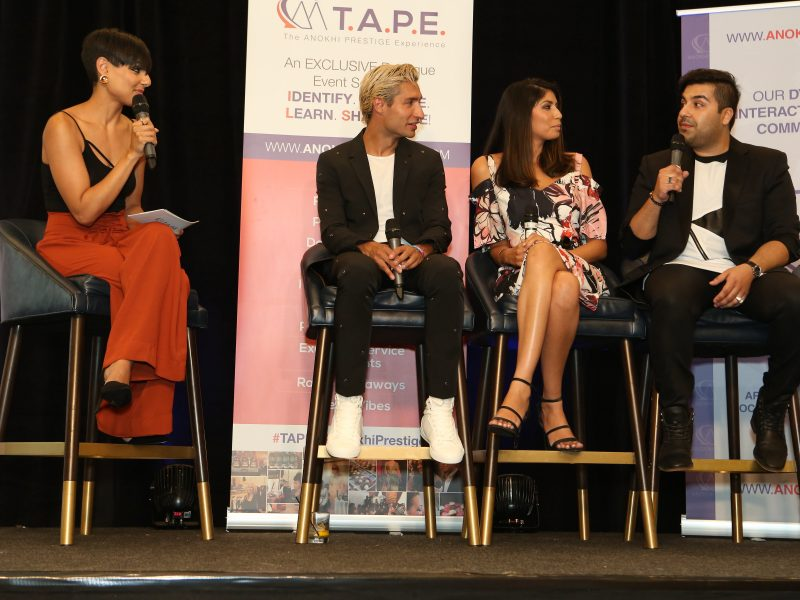 """How Style Influences Identity"" Panel Discussion, Hosted By Sonia Jhas, Featuring Emmanuel Sandhu, Pooja Handa & Jason Cameron"