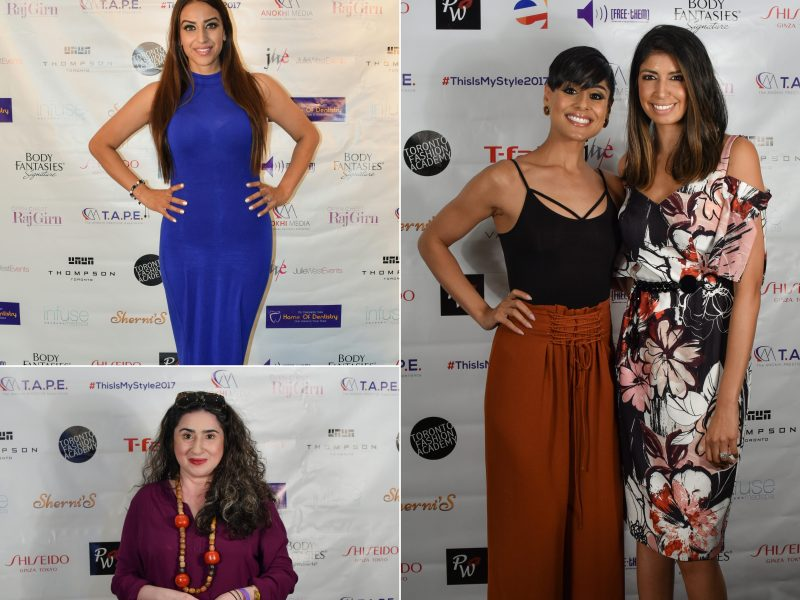 Clockwise: Sonia Jhas, Pooja Handa, Hina Ansari, DJ Fizza