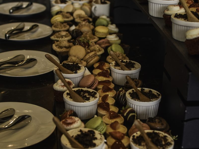 Delicious Treats For The Guests