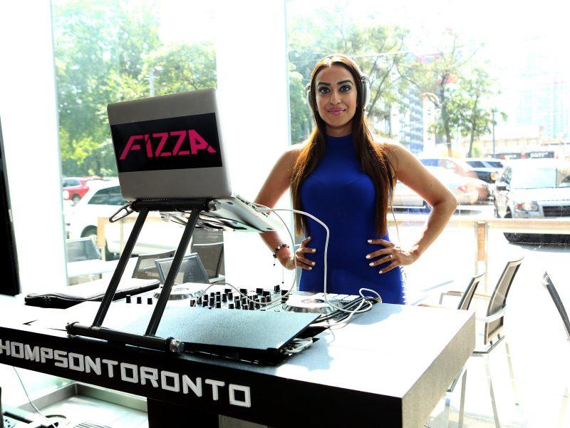 DJ Fizza Spinning