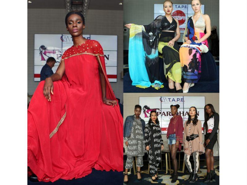 Fashion Installation By Toronto Fashion Academy Featuring Alia Qureshi, Diinesh Ramsay Designs, Satya Paul Canada, Hatecopy, Babbu The Painter, Paridhaan, Shannalina