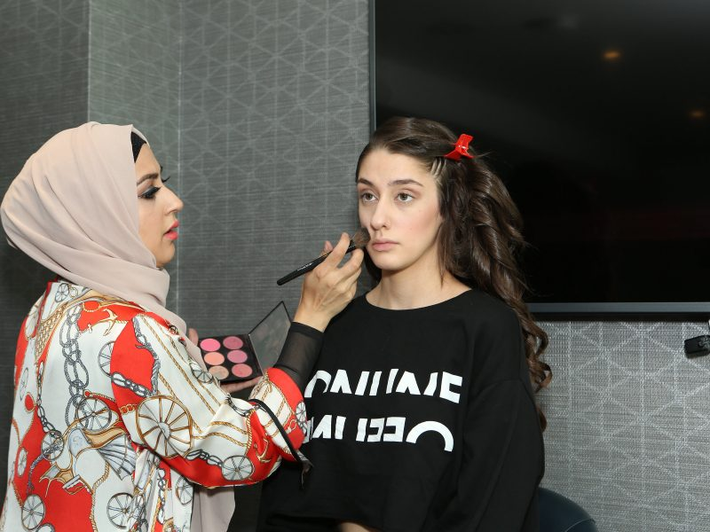 Fashion Installation Makeup By Pretty Woman Cosmetics