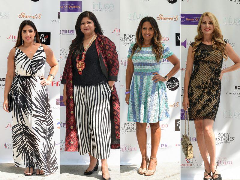 L-R: Kavita Suri, Sarita Jain, Dimple Mukherjee, Joan Kelley Walker