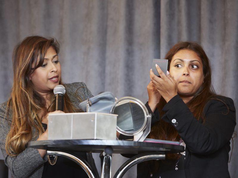 Live Makeup Demonstration By Vasanti Cosmetics
