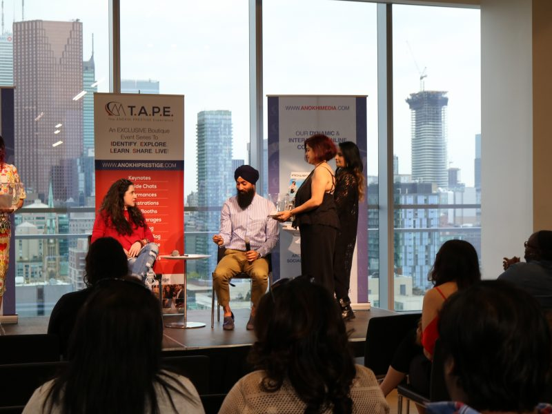 ANOKHI Magazine's Editor-In-Chief Hina Ansari & Men's Style Expert Harjas Singh
