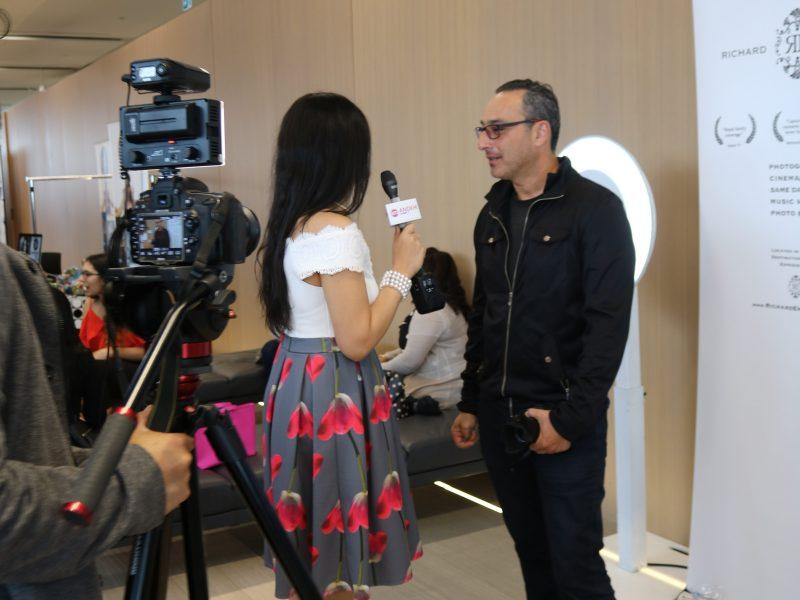 ANOKHI Spotlight TV Interviewing XOXO Booth Owner Richard Emmanuel