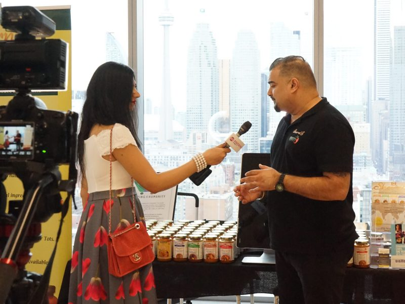 ANOKHI Spotlight TV Talking To Owner of Sherni's Sauces, Sundeep Sharma