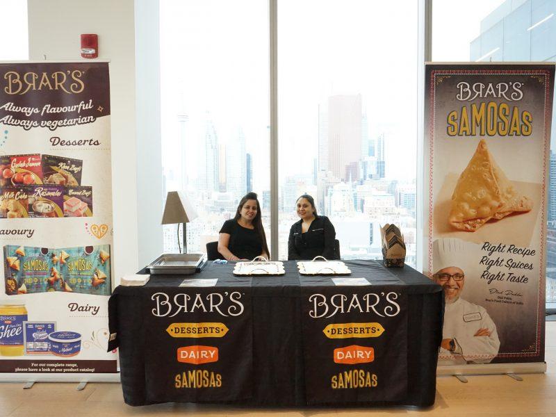 Brar's Desserts & Samosas Booth