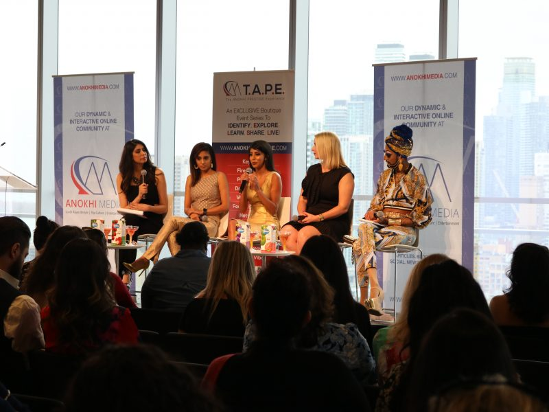 """The Business Of Glamour"" Panel Discussion, Hosted By CP24's Pooja Handa, Featuring The Sandy Lion, Hemali Mistry (Ready To Glow), Ashlee Froese & Manghoe Lassi"