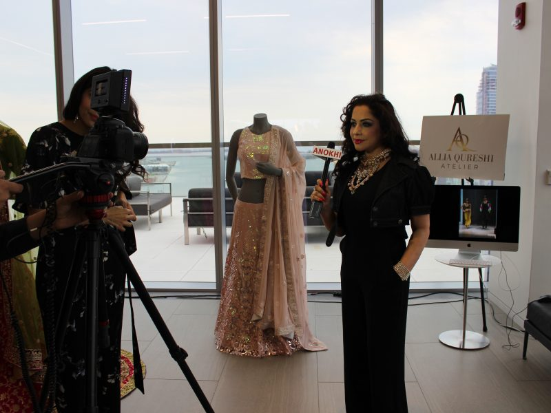 New York Fashion Designer Allia Qureshi Showcasing Her Atelier Collection