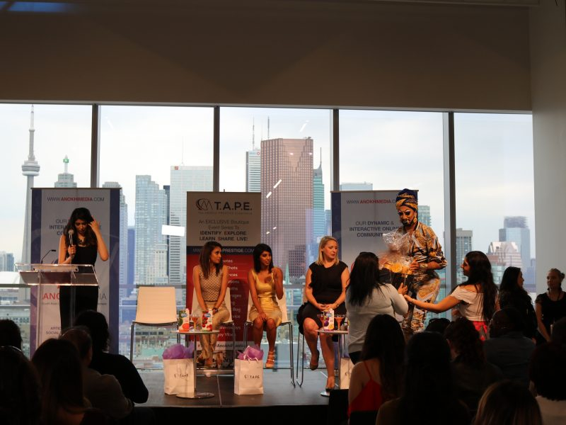Manghoe Lassi Presents Shea Moisture Raffle Prize